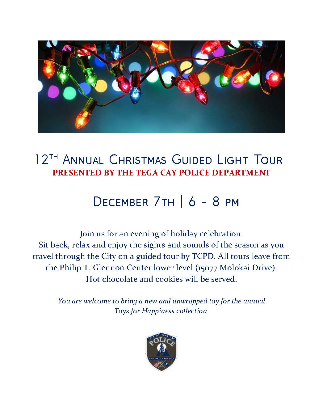 12th Annual Guided Light Tour 2017