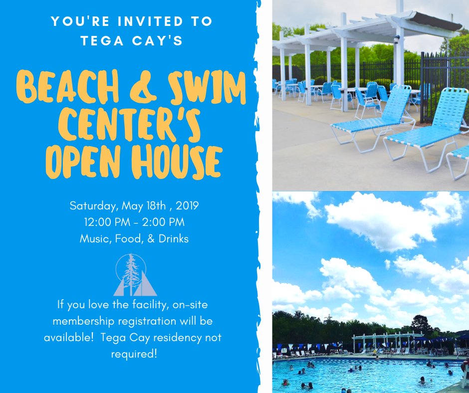 Beach  and Swim Center Open House