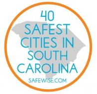 SafeWise Top 40 Safest Cities in SC